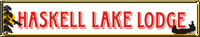 Haskell Lake Lodge Logo